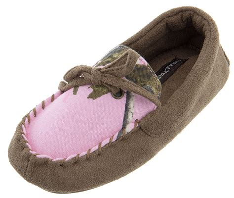 pink toddler slippers real tree pink moccasin slippers for toddler