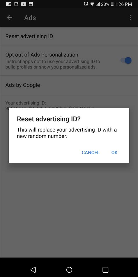 how to opt out of ad tracking on android 171 android gadget hacks