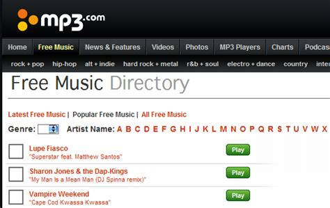 top  websites   legal mp  downloads