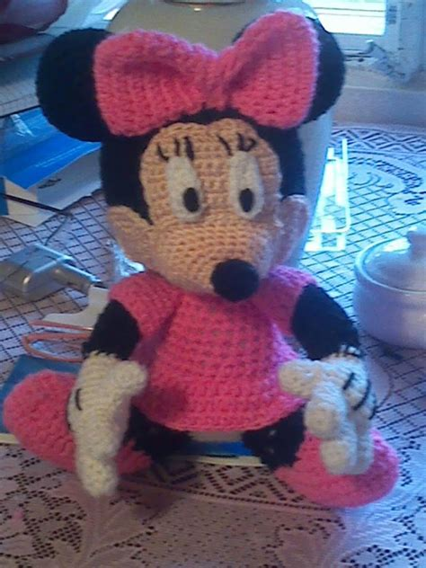 minnie mouse doll knitting pattern free minnie mouse crochet for doll studio