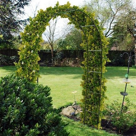 arch for climbing plants self assembly garden metal arch for climbing plants