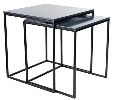 Jysk Side Table Nest Of Tables Sandbjerg Grey Black Jysk
