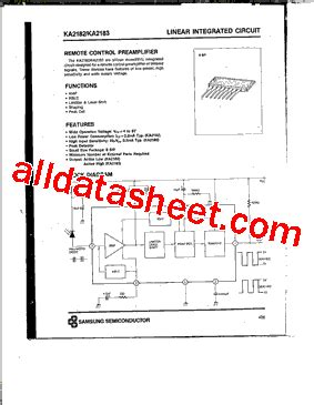 Kec Kia324p ka2183 데이터시트 pdf samsung semiconductor