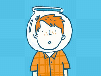 children s fiction the goldfish boy by lisa goldfish boy book promo animation by simon wood dribbble