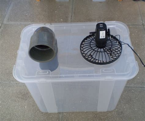 Handmade Air - simple cheap air conditioner cooler
