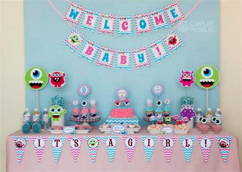 monster bathroom theme kara s party ideas girly monster baby shower party