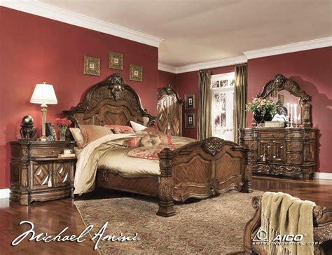 king size master bedroom sets king size bedroom sets aico 6pc windsor court king size