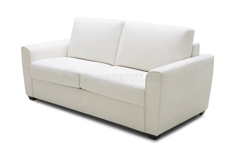 microfiber fabric for sofa alpine premium sofa bed in white microfiber fabric by j m