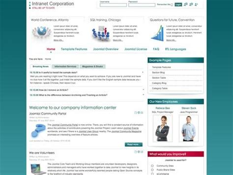 Torrent Is My Life Intranet Templates Free Intranet Templates