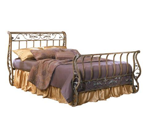 Metal Sleigh Bed Metal Sleigh Bed Bittersweet Metal Sleigh Bed By B219 Cross Creek Furniture Stuff
