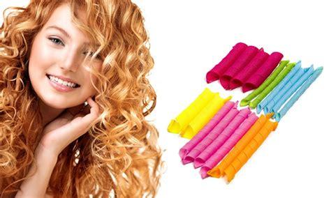 hair curlers heatless hair curlers groupon