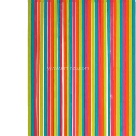 tenda a strisce tenda per porta 90 x h220 cm strisce pvc multicolore