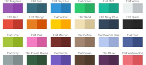 subtle colors design trends in mobile applications expected in 2015