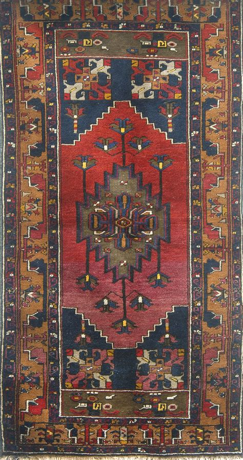 antique turkish anatolian yahyali kayseri caesarea rug
