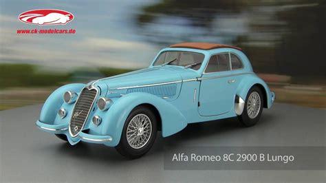 Alfa Romeo 8c 2900 by Ck Modelcars Alfa Romeo 8c 2900 B Lungo Baujahr
