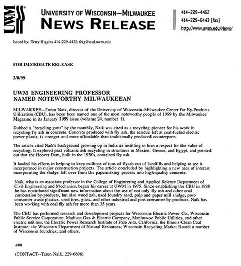 cbu news releases