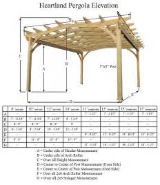 Height Of Pergola by Pergola Post Sizes Pergola Dimensions Home Renovation