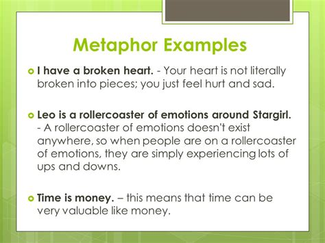 metaphor exles sentences www imgkid com the image