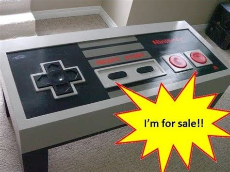 Nes Coffee Table For Sale Nintendo Controller Coffee Table Plans Image Mag