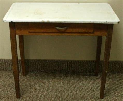 enamel top kitchen table vintage vintage mutschler