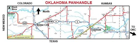 information for black mesa oklahoma s highest point at