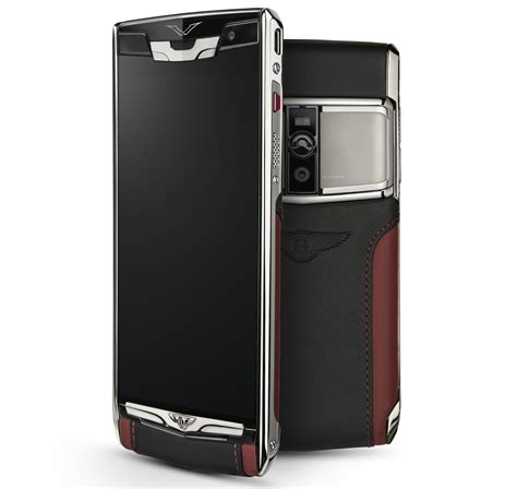 vertu phone touch screen bentley signature touch phone by vertu from rm40k image
