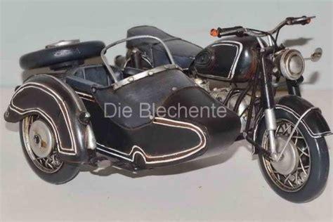 Modell Motorrad Mit Beiwagen by Blechmodell Bmw Motorrad Mit Beiwagen Die Blechente