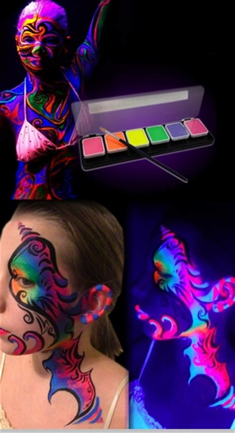 Global Paint Kit Kit global colours neon fx pro black light reactive
