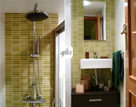 small bathroom makeovers before and after before and after small bathroom makeovers big on style