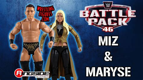 maryse figure wwe figure insider miz maryse wwe battle packs 46 wwe