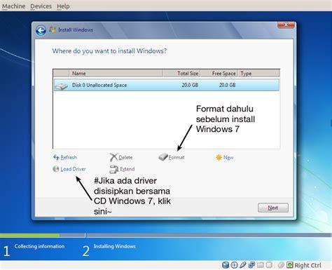 Youtuber Dan Username 009 15 langkah mudah install windows 7