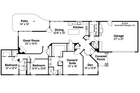 ranch house floor plans ranch house plans alton 30 943 associated designs