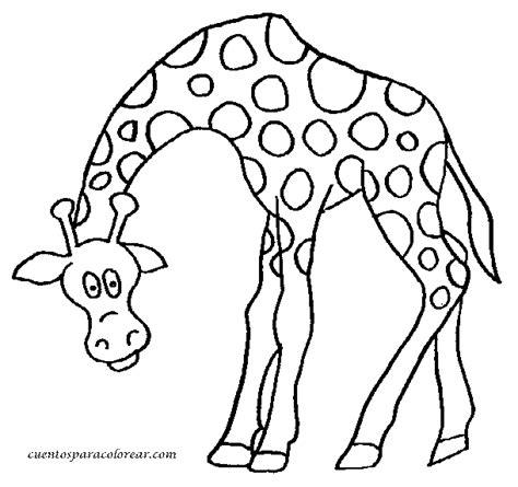 imagenes de jirafas en ingles maestra de infantil animales salvajes para colorear