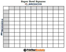 superbowl squares template 2015 bowl squares template new calendar template site