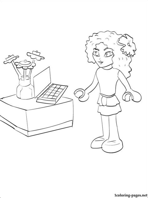 coloring pages lego friends lego friends coloring pages