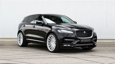 jaguar f pace blacked out all black sinister jaguar f pace gets custom parts carid