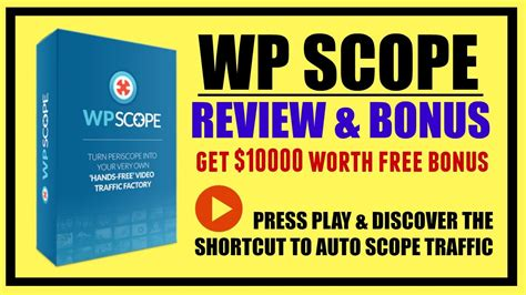 8 Bonuses Of Getting Really by Wp Scope Review Bonus Get 10000 Free Bonus Package