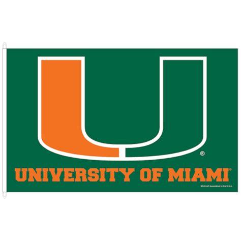 Design House Miami Fl university of miami florida flag 3x5 uncommon usa
