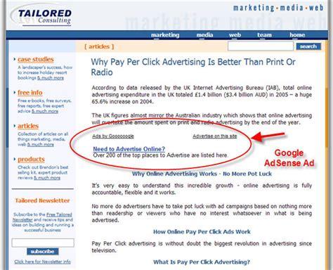 adsense google sites don t make your google adsense ads stick out web site