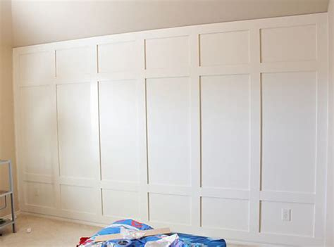 simple bedroom wall panels with additional home interior diy board batten wainscot combo wall 2 story family 187 a