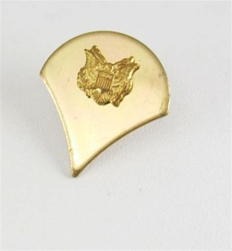 gkhair on pinterest 28 pins vintage us army specialist 4 rank lapel pin by