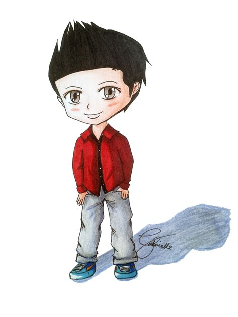 Chibi Boy By Gabbydong On Deviantart How To Draw Chibi Boy