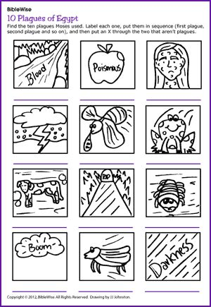 coloring pages ten plagues egypt 10 plagues of egypt puzzle kids korner biblewise