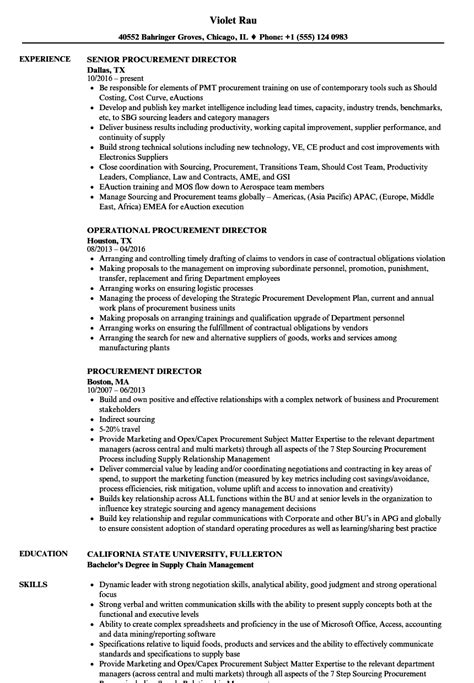 Resume Sles Kenya bachelor of procurement and supply chain management best