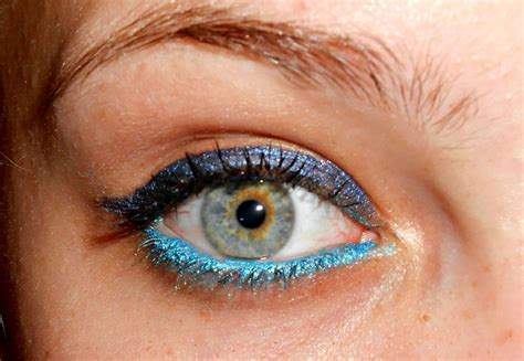 electric blue tattoo maybelline color in electric blue and tenacious