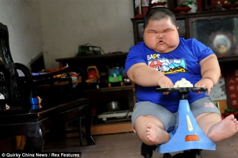 Fat Asian Baby Meme - lu hao chinese toddler 3 weighs a staggering 132lbs and