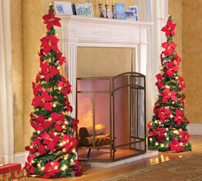 how to make a christmas yard poinsettia lighted lighted poinsettia pull up tree from collections etc