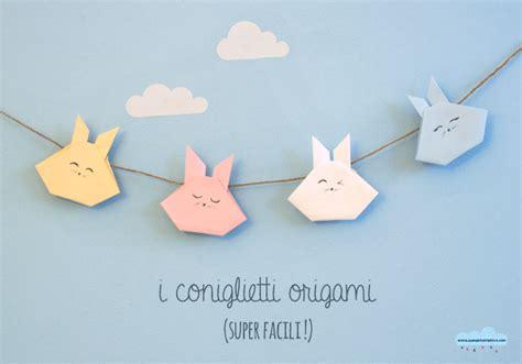 tutorial origami per bambini tutorial origami coniglietto