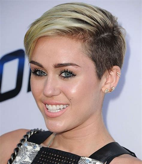 the name of mileys haircut miley cyrus short spiked punk 12 best images about buzzed pixie on pinterest shorts