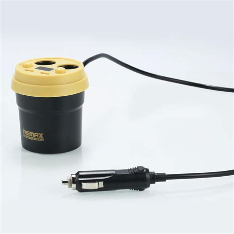 Remax Charger Mobil Series Car Charger 3 Usb 4 2a Rcc304 Remax remax coffee cup cr 2xp car charger with dual usb ports dual cigarette lighters 3 1a white